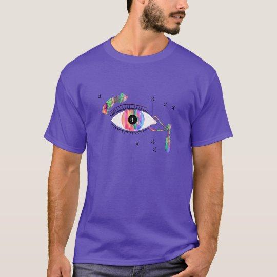 Glitch Art Trippy Eye Anatomy Shirt