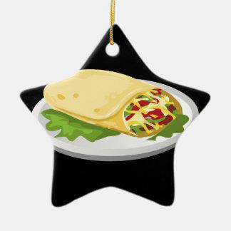Glitch Food kind breakfurst burrito Christmas Ornament