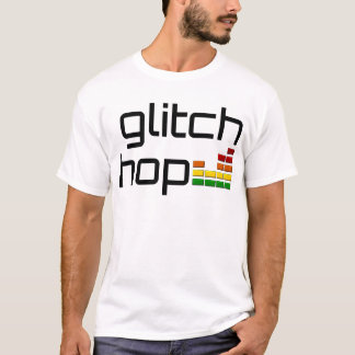 Glitch Hop with Volume Equalizer T-Shirt