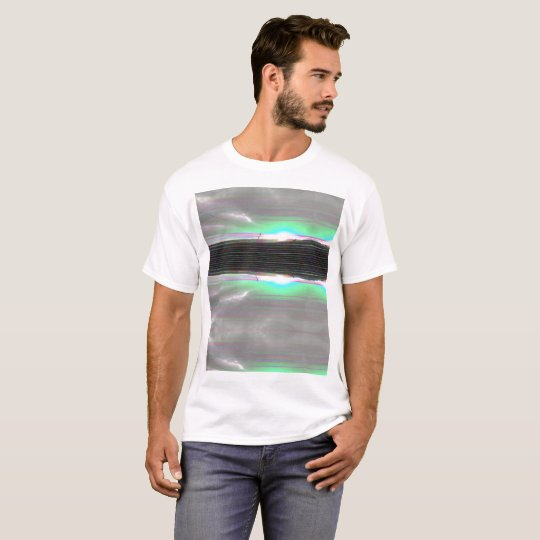Glitch Pattern Design - Double Sunrise T-Shirt