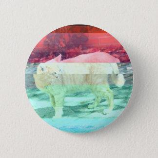 Glitched Cat Button