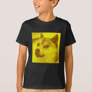 Glitched, pop art halftone design T-Shirt