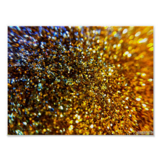Glitter Abstract Print