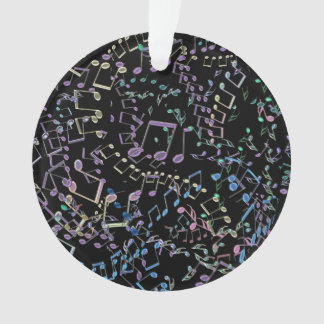 Glitter and Bling  Rainbow Musical Notes