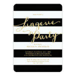 Glitter and Glam | Lingerie Party Invitation