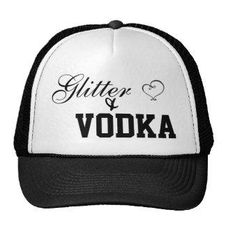 Glitter and vodka cap