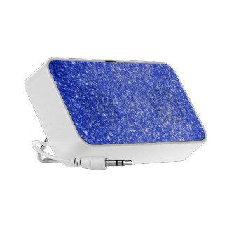 Glitter Blue Travelling Speaker