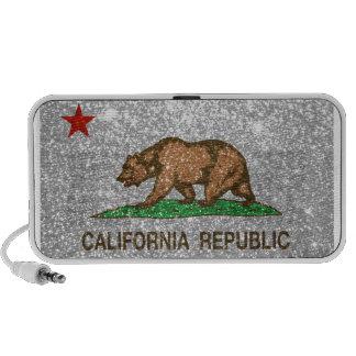 Glitter California Mini Speaker