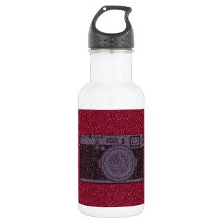 Glitter Camera 532 Ml Water Bottle