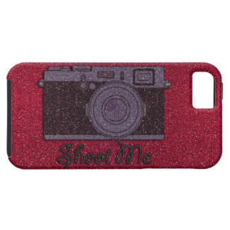 Glitter Camera Case For The iPhone 5