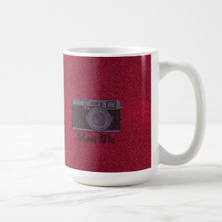 Glitter Camera Coffee Mug