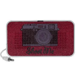 Glitter Camera Mini Speaker