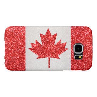 Glitter Canada flag Samsung GalaxyS6 case