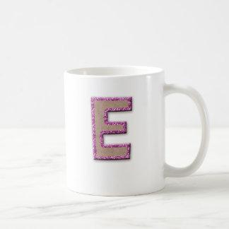 Glitter Cardboard Monogram Mugs