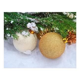Glitter Christmas baubles 21.5 Cm X 28 Cm Flyer