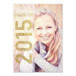 Glitter Class of 2015 Graduation Announcement