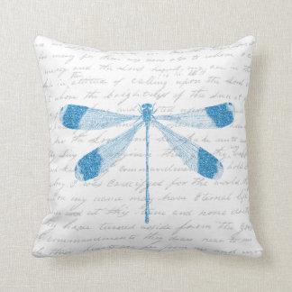 Glitter Dragonfly Cushion