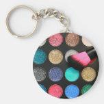 Glitter Eyeshadow Keychain