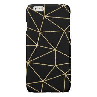 GLITTER GOLD LINES I-PHONECASE iPhone 6 PLUS CASE