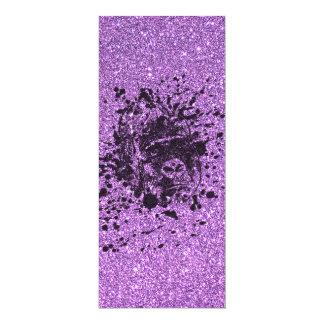 Glitter Gorilla 10 Cm X 24 Cm Invitation Card