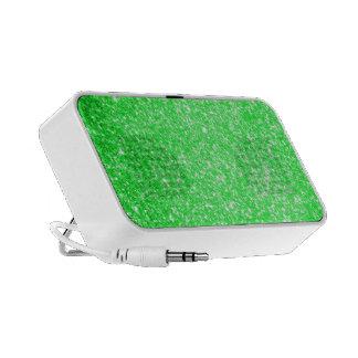 Glitter Green Speaker