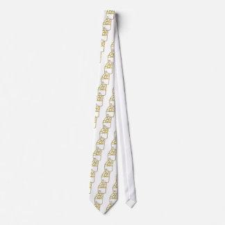 Glitter Groceries Tie