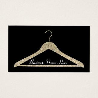 Glitter Hanger Business Card