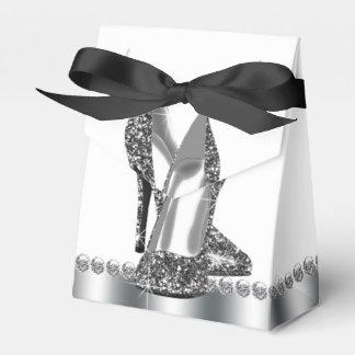 Glitter High Heel Shoe Favor Box