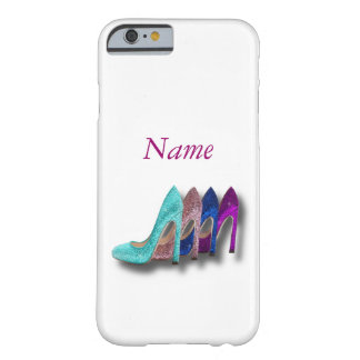 Glitter High Heel Shoes Fashion iPhone 6 case Barely There iPhone 6 Case
