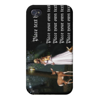 Glitter in the forest -Fairy fantasy iphone case Cover For iPhone 4