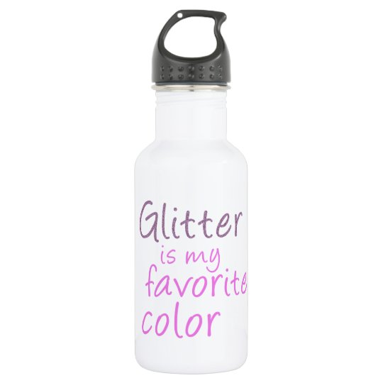 Glitter is my favourite colour. 532 ml water