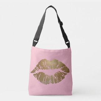 Glitter Kiss Pink Tote Bag