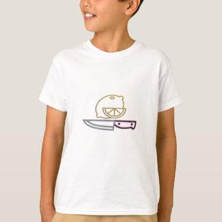 Glitter Lemon and Knife T-Shirt