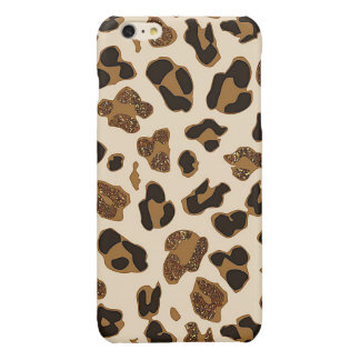 Glitter Leopard iPhone 6 Plus Case