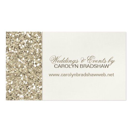 Glitter look gold business card zazzle for Zazzle business card