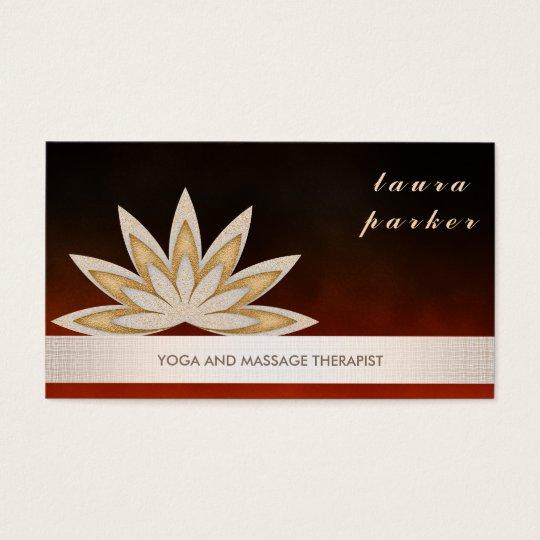 Glitter Lotus Flower Logo Yoga Healing Health Business