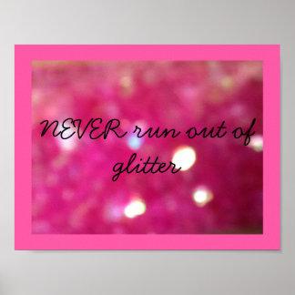 Glitter Lover Poster