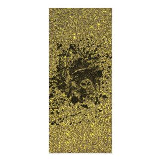 Glitter Monkey 10 Cm X 24 Cm Invitation Card