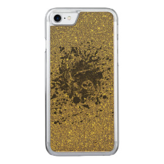 Glitter Monkey Carved iPhone 8/7 Case