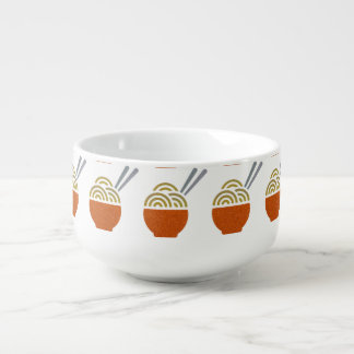 Glitter Noodle Soup Mug