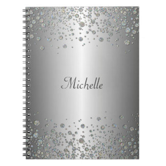 Glitter pattern Notebook