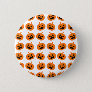 Glitter Pumpkins 6 Cm Round Badge