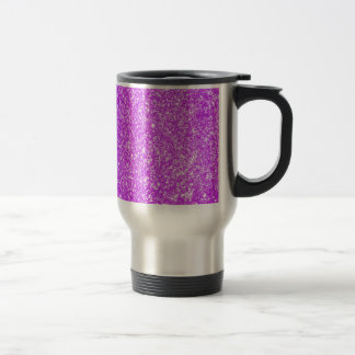 Glitter Purple Coffee Mug