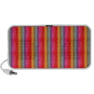 Glitter Rainbow gradient Notebook Speaker