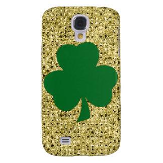 Glitter Shamrock  Samsung Galaxy S4 Cover