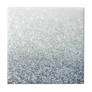 Glitter Small Square Tile
