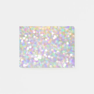 glitter sparkle silver fun artsy post it note post-it® notes