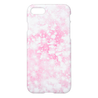 Glitter Sparkly Pink Magenta iPhone 8/7 Case