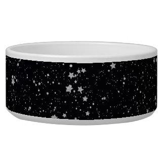 Glitter Stars2 - Silver Black