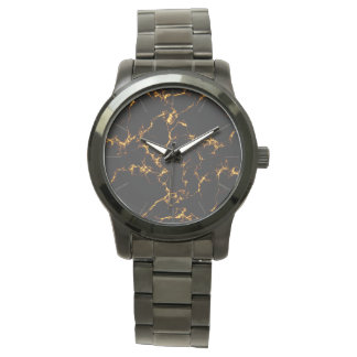 Glitter Stars3 - Gold Black Watch